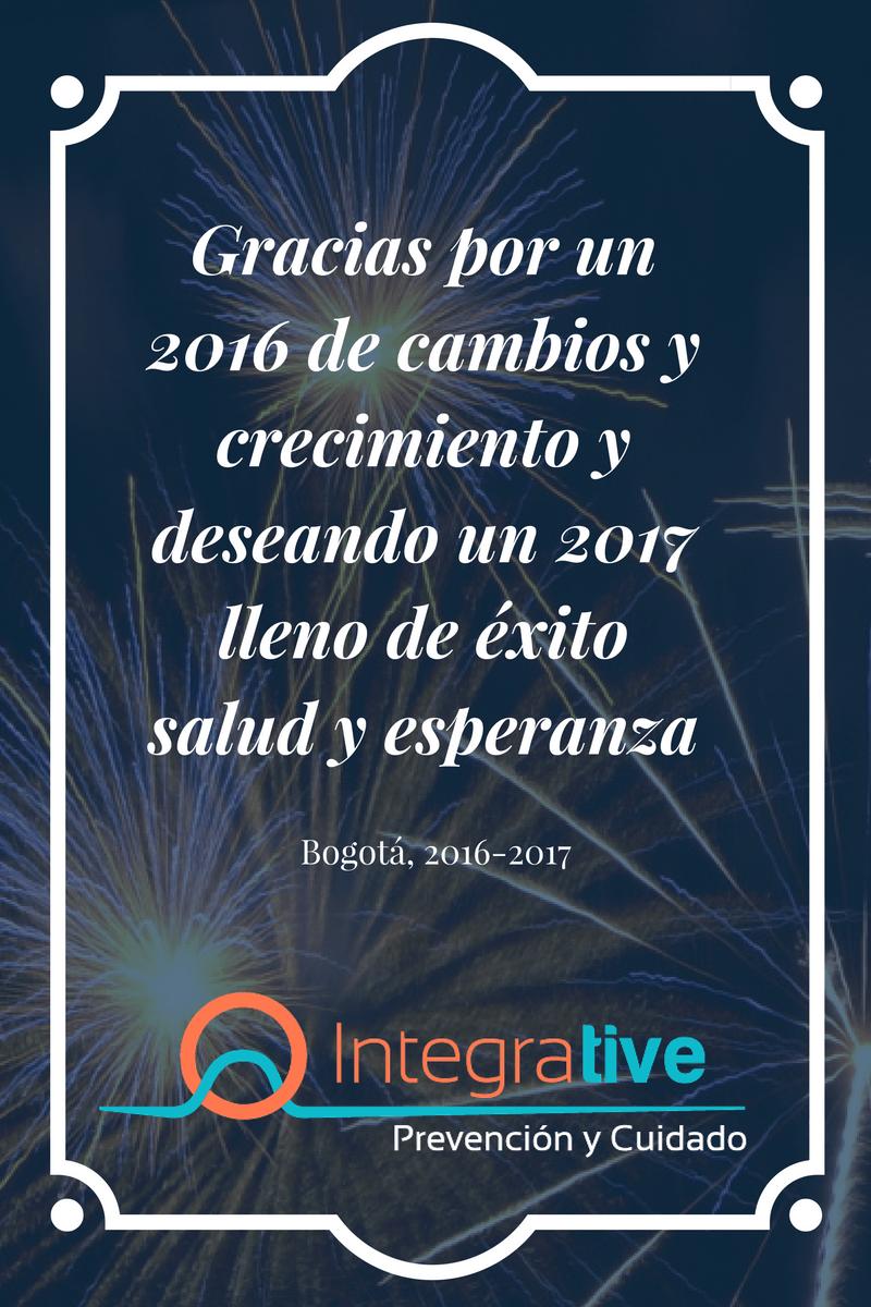Próspero año nuevo 2017